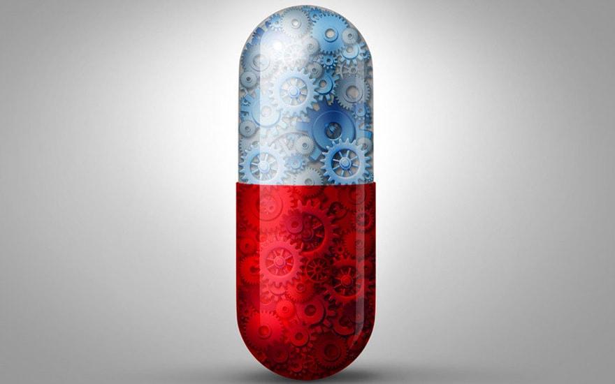 Pilule connectée