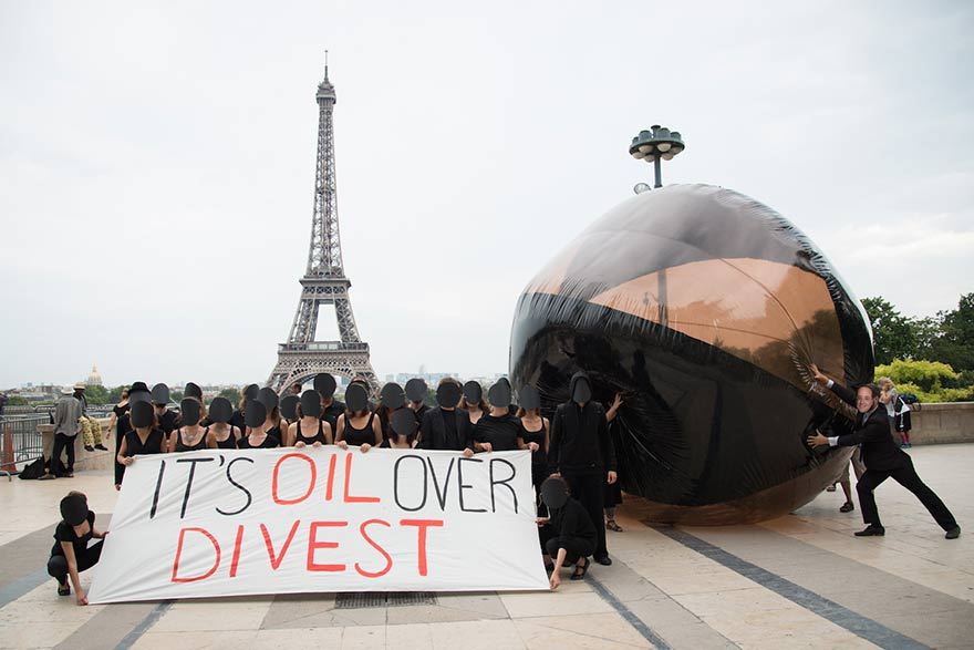COP21 against carbon bubble