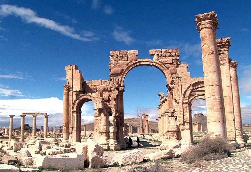 Arc de triomphe de Palmyre