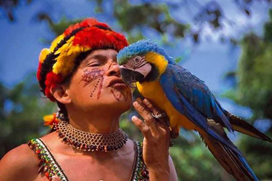 Achuars d'Amazonie