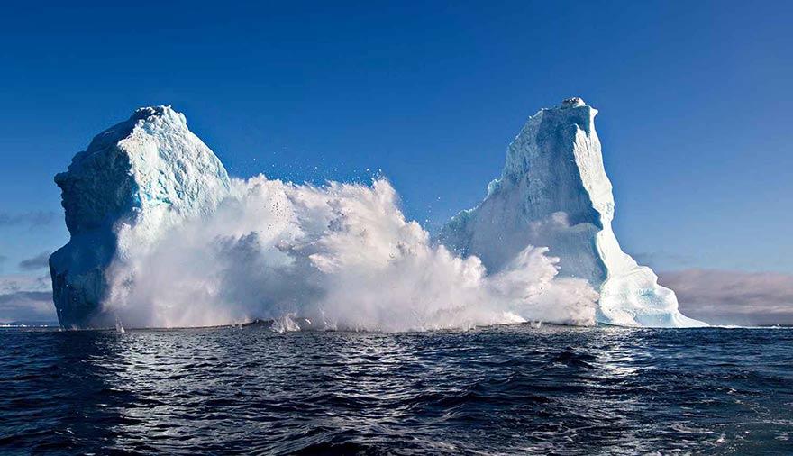 Fonte glacier Groenland