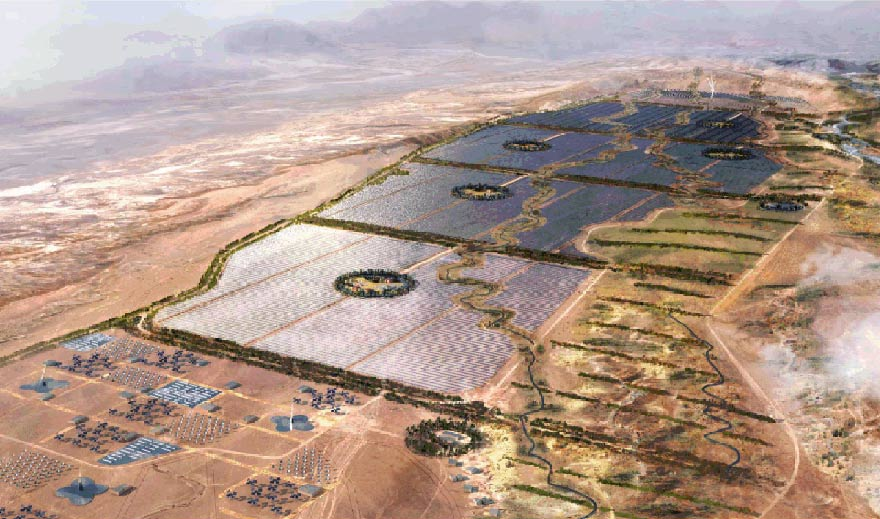 Complexe solaire de Ouarzazate