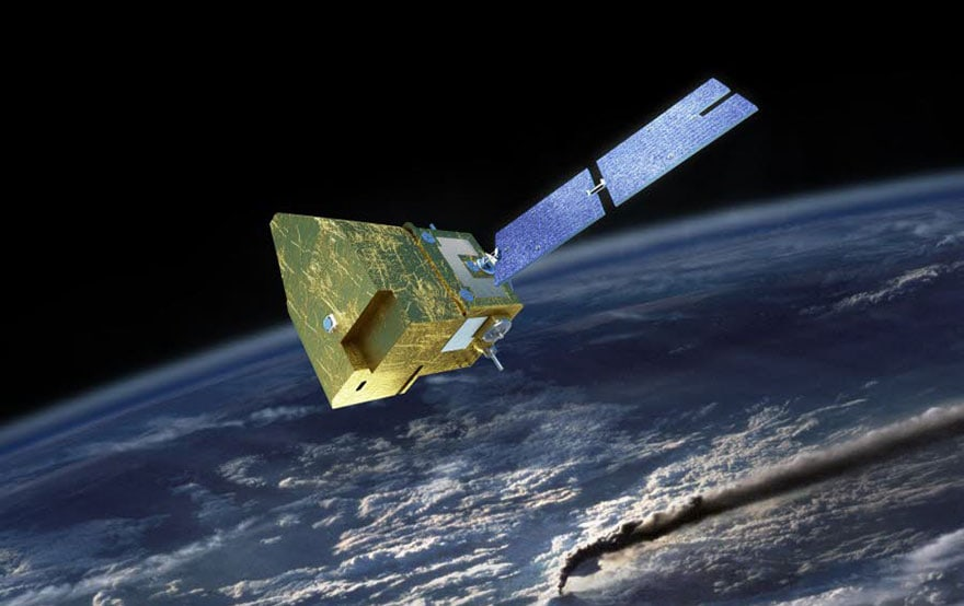 Satellite CNES Microcarb