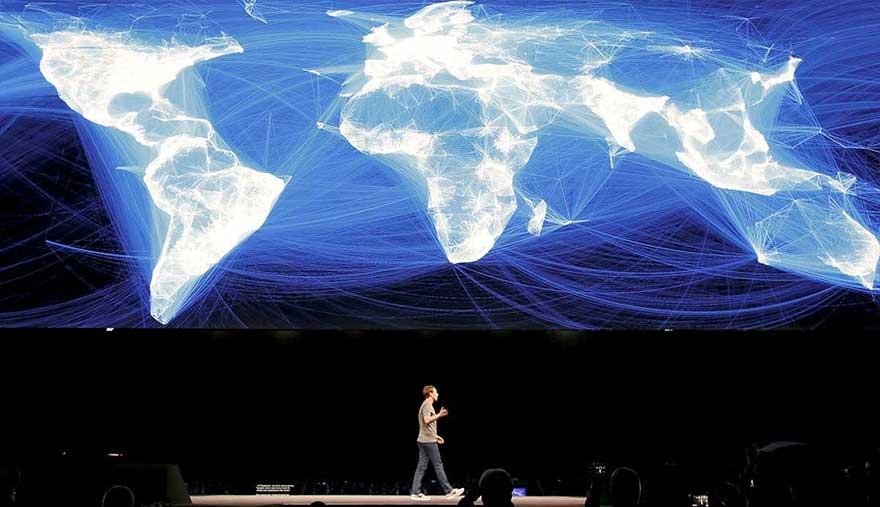 Facebook cartographie l'humanité