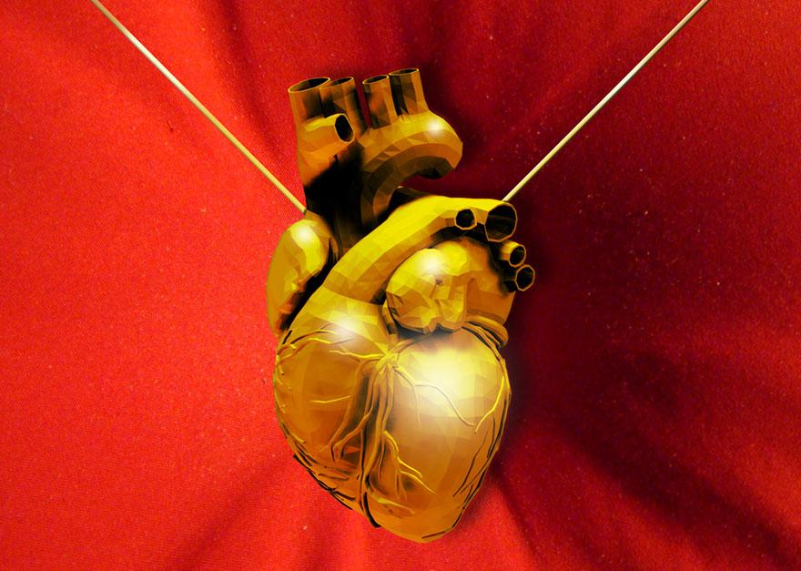 Patch cardiaque cyborg