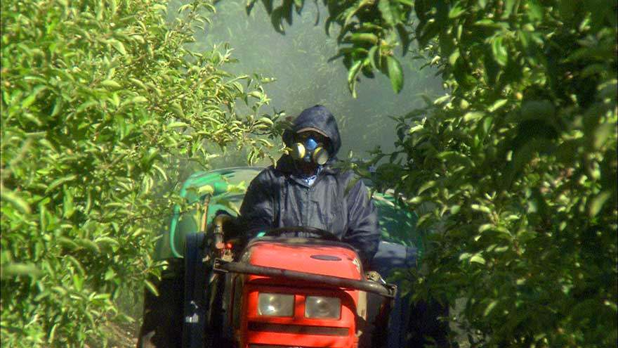 Pesticide application