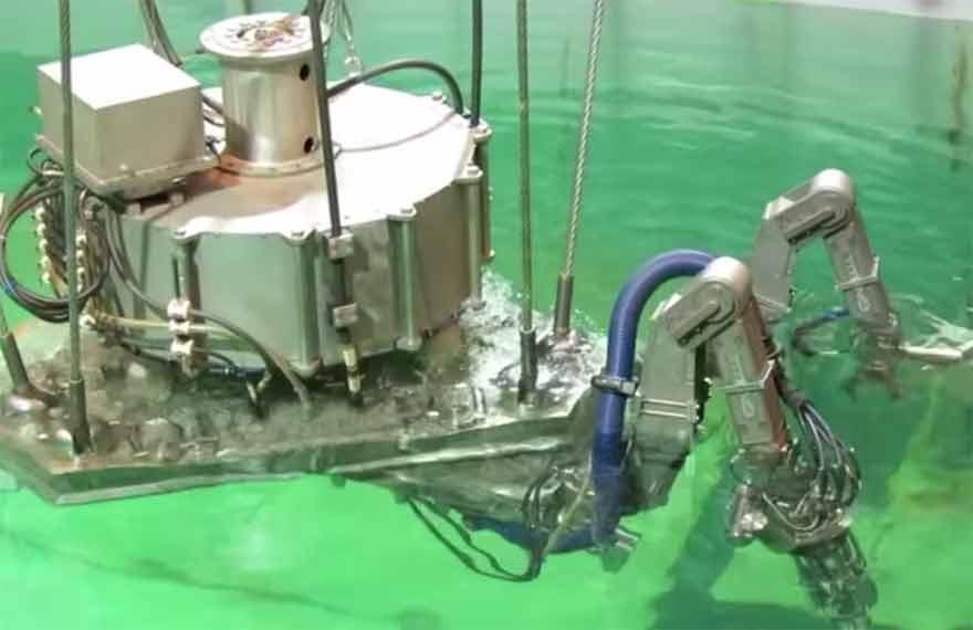 Robots tués à Fukushima