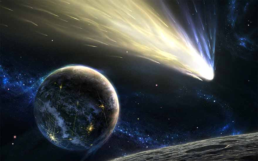 Comètes - vie sur Terre