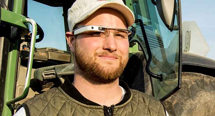 Agriculteur geek