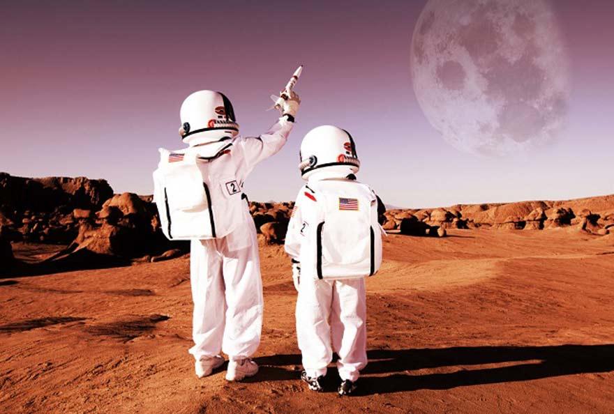 plaqnète Mars