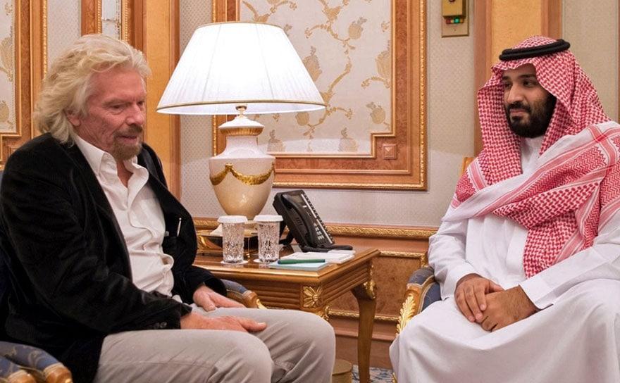 Branson in Riyadh