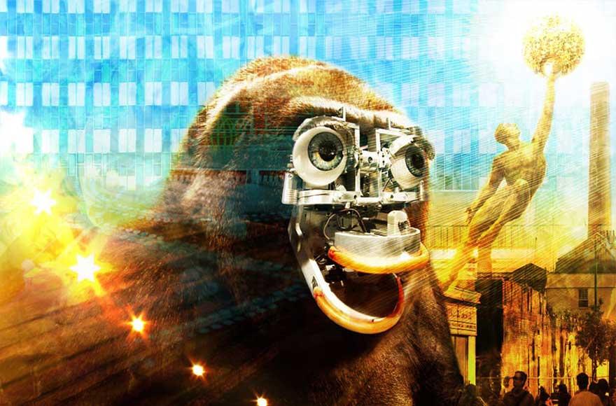 gorille robot