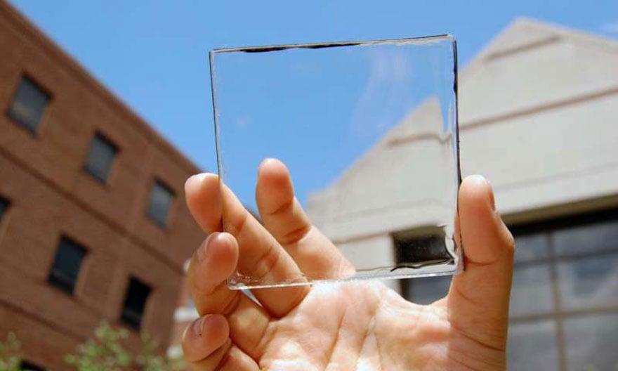 panneaux solaires transparents