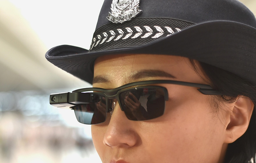 Police chinoise