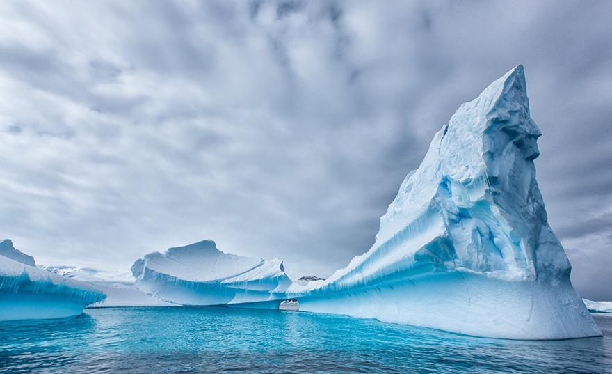 Glaciers Antarctique