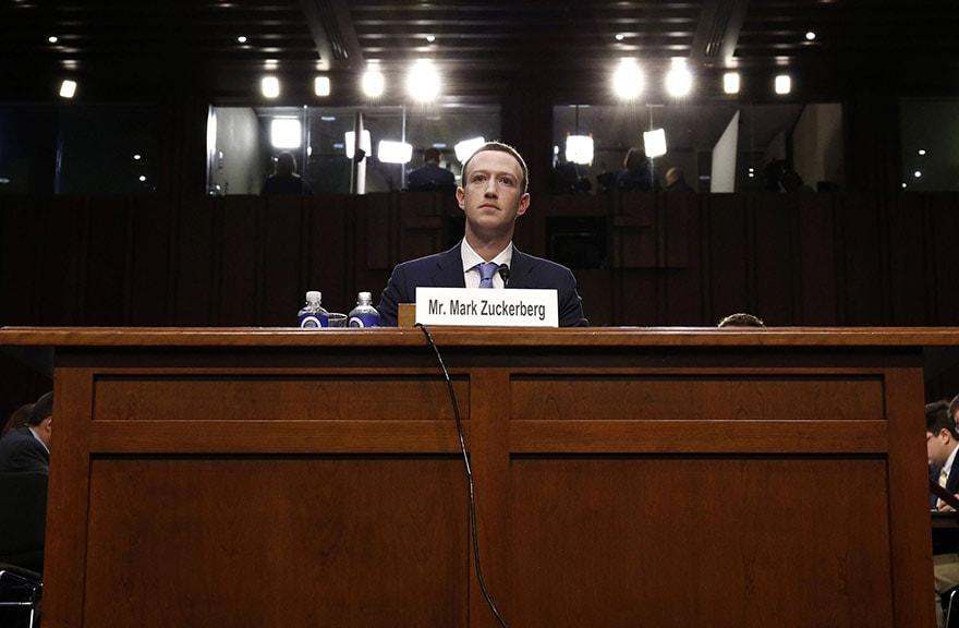 Audition Zuckerberg au Sénat US