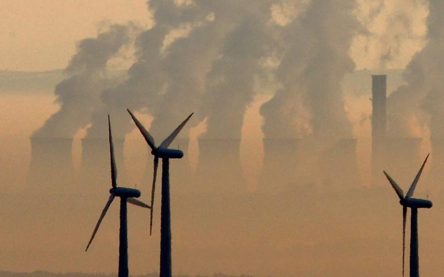 éoliennes et centrales nucléaires
