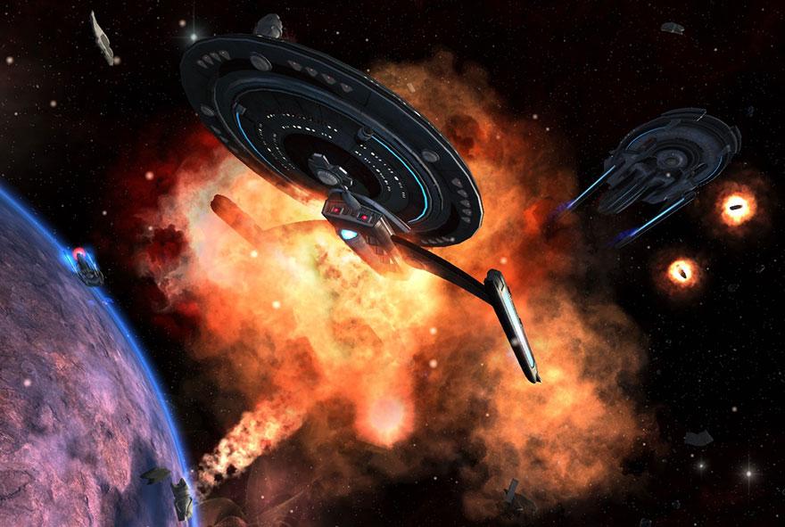 guerre de l'espace