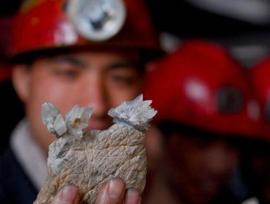 Rare earth mines in China
