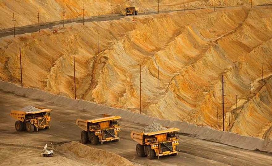 Rare earth mines