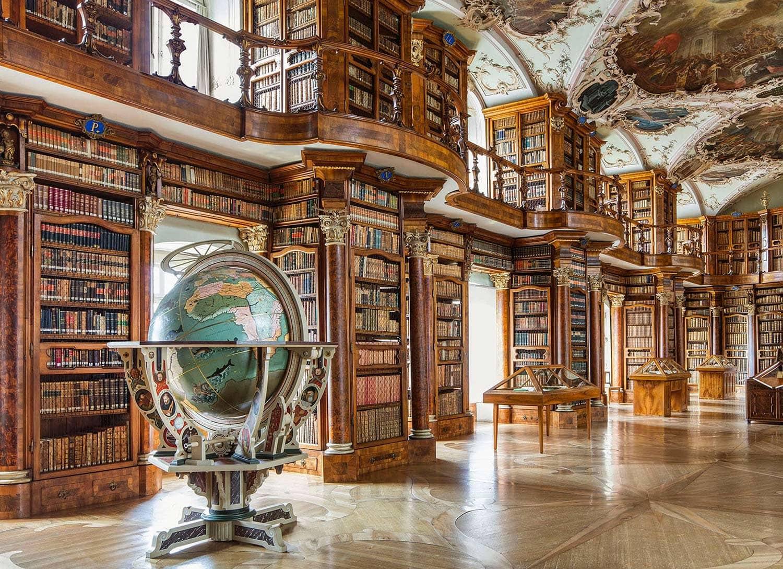 Bibliothèque de l'abaye de Saint-Gall (Suisse)