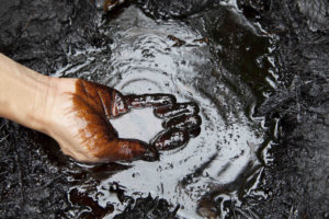 pétrole, or noir