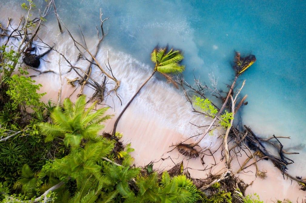 Tuvalu sous les eaux