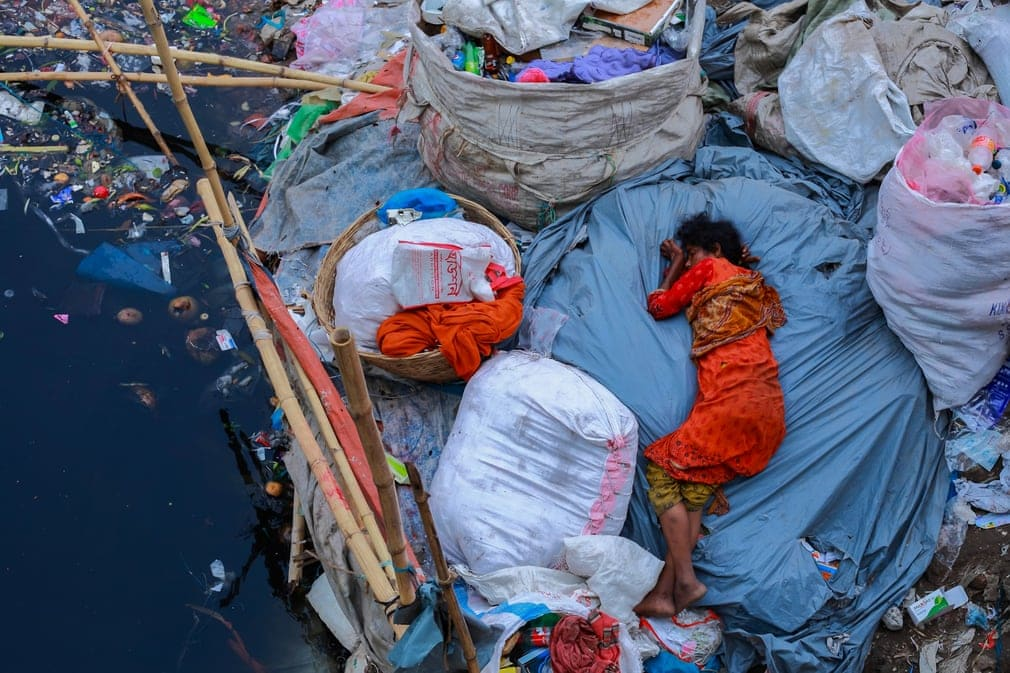 La fatigue à Dhaka, Bangladesh