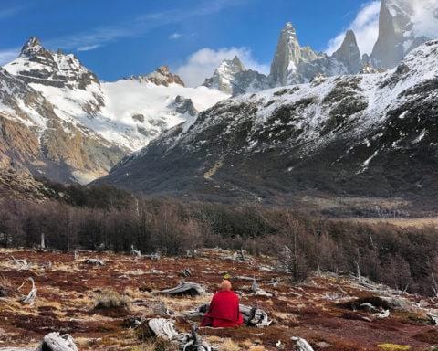 Le Cerro Chaltén en Patagonie (Argentine) Photo Matthieu Ricard