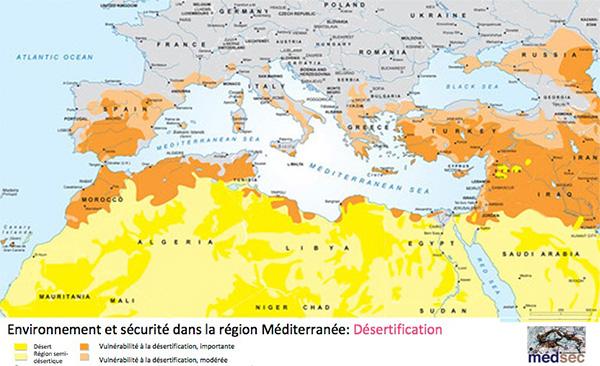 Méditerrane - désertification