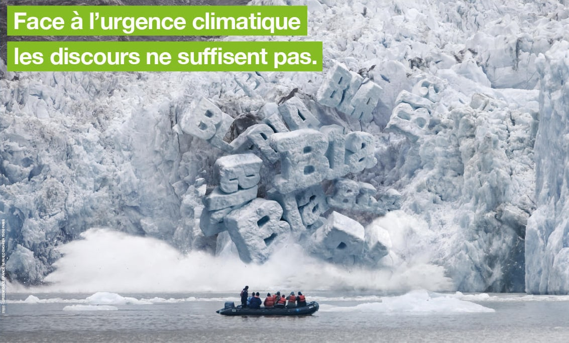 the greenpeace campaign that disturbs