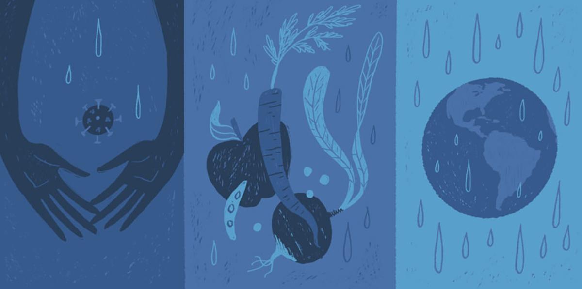 Le Covid-19 nous dit qu'il est temps que les systèmes mondiaux changent — à commencer par l'eau.