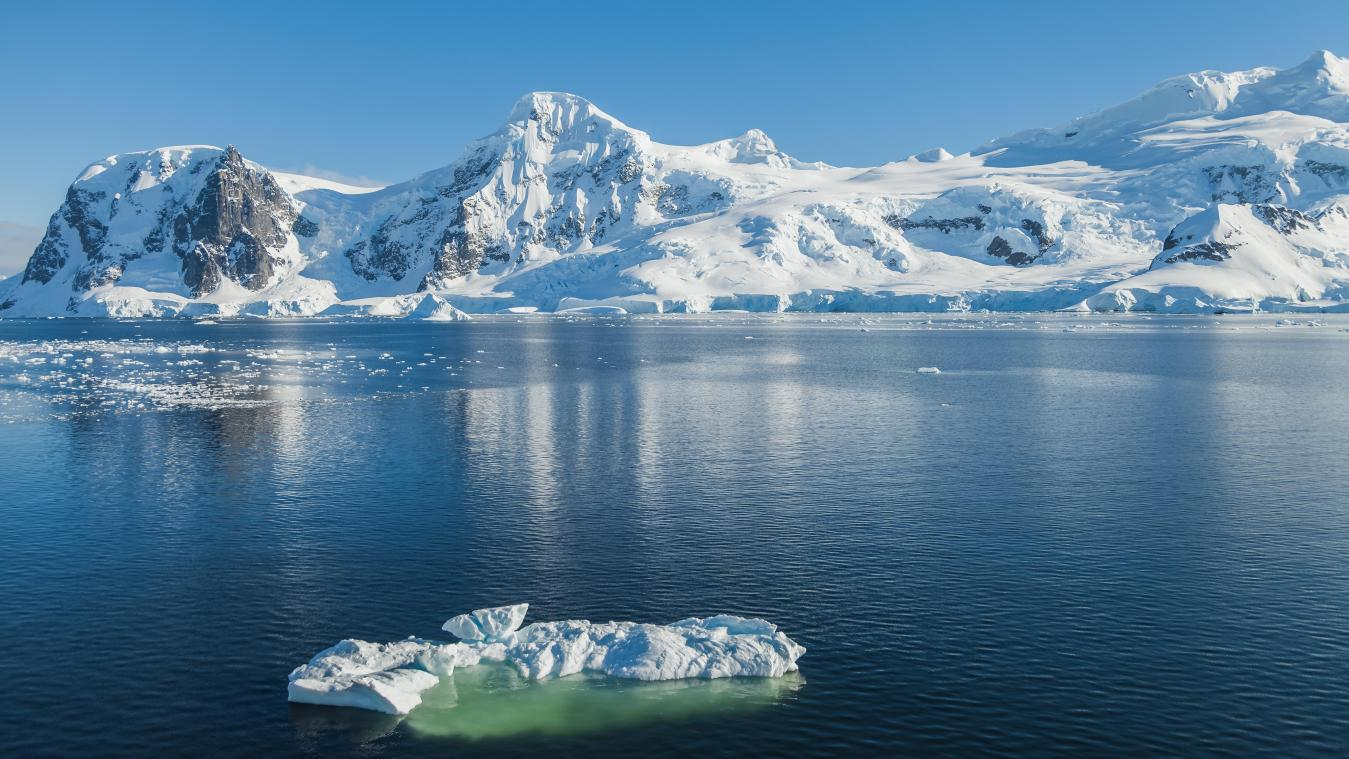 The South Pole is warming three times faster. The risk of rising oceans is increasing.
