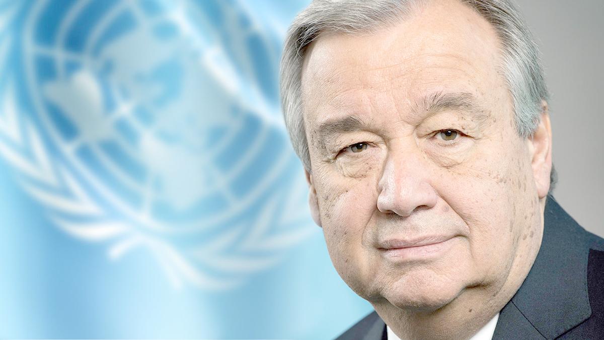 António Guterres : « Si nous ne changeons pas de cap, c'est du suicide »