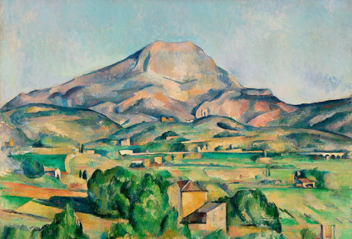 Des éoliennes sur la Montagne Sainte-Victoire de Cézanne