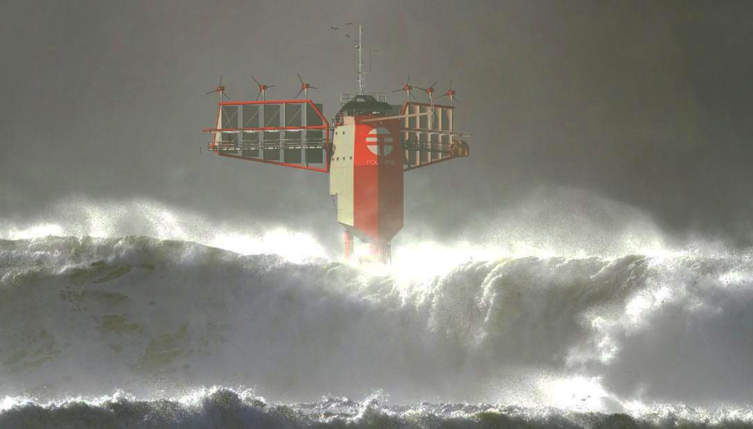 """Le laboratoire flottant """"Polar Pod"""" va dériver autour de l'Antarctique pour étudier l'océan Austral"""