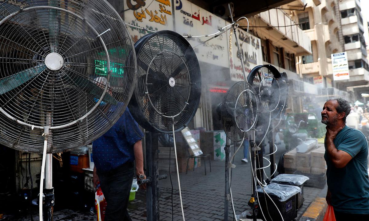 Les villes menacées par les chaleurs extrêmes